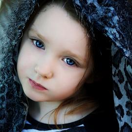 Hairy Shawl by Cheryl Korotky - Babies & Children Child Portraits