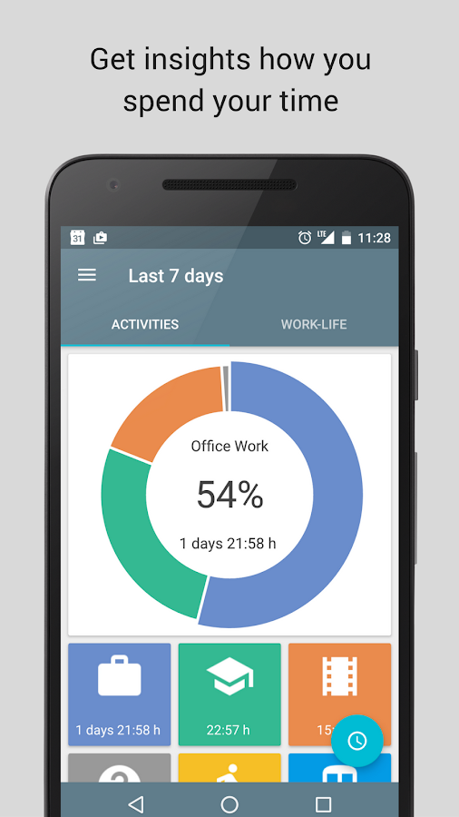 SaveMyTime - Time Tracker Screenshot 1