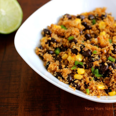 Black Bean Fried Quinoa
