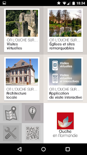 Visites virtuelles Ouche - screenshot