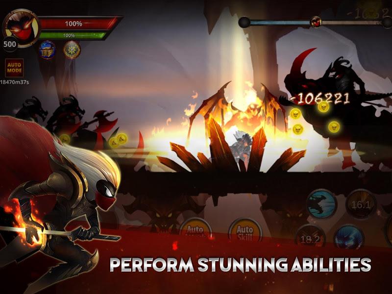 Stickman Legends: Shadow Wars Screenshot 1