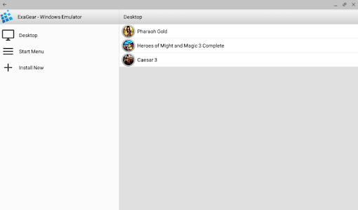 ExaGear - Windows Emulator 이미지[1]