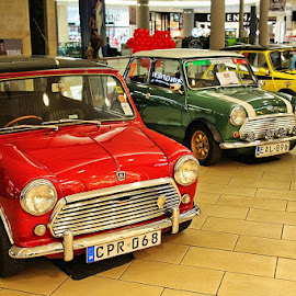 Red, green and yellow by Francis Xavier Camilleri - Transportation Automobiles