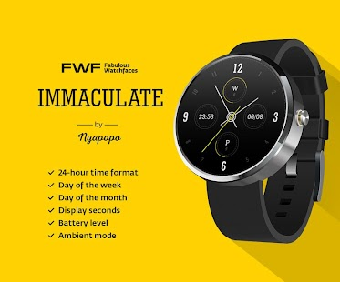 Immaculate Watch Face FWF