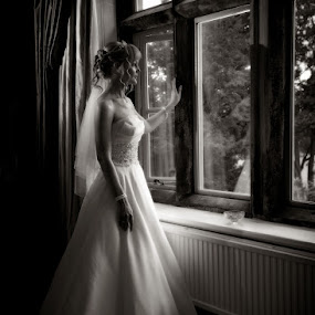 by Steve McNiven-Photography - Wedding Bride ( jewish wedding photographer, leeds wedding photographer, wedding photographer )