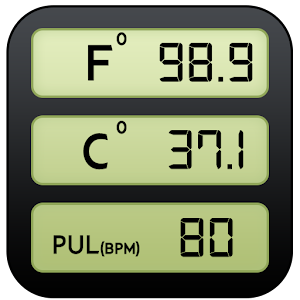 Body Temperature : Thermometer Fever History Diary Online PC (Windows / MAC)