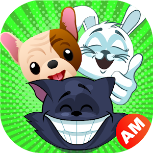 Emoji for WhatsApp - Cute Puppy, Cat, Animal Emoji Icon