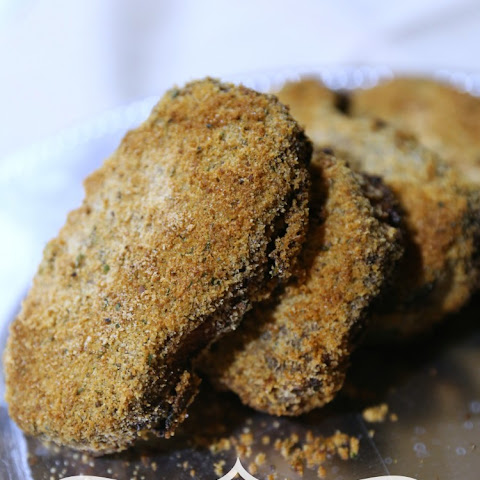 Baked Ranch Italian Breaded Pork Chops