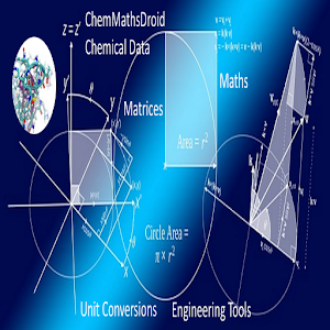 ChemMathsDroid Engineering,Chemical,Maths tools For PC (Windows & MAC)