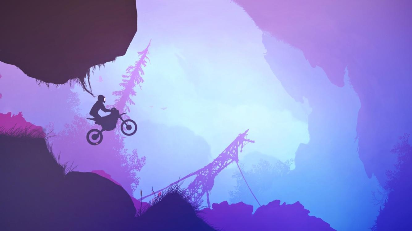 Psebay: Gravity Moto Trials Screenshot 1