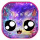 Galaxy Cute Smile Cat Keyboard Theme APK