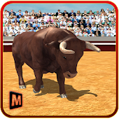 3D Angry Bull Attack Simulator  for Android