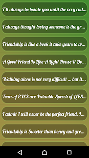 Friendship  Sms Collection - screenshot