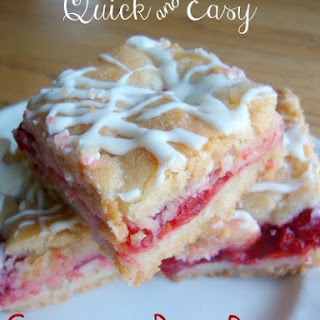 Quick & Easy Cherry Pie Bars