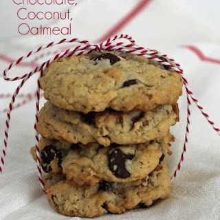 Chocolate Coconut Oatmeal Breakfast Cookies