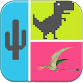 APK Game Dinosaur Hero Chrome for BB, BlackBerry