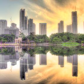 Reflections  by Harris Daniel - Landscapes Sunsets & Sunrises