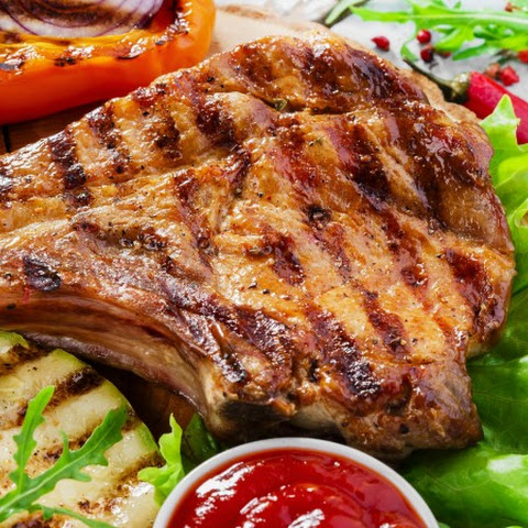Lime Glazed Pork Chops