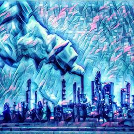 Big blue world  by Todd Reynolds - Digital Art Places