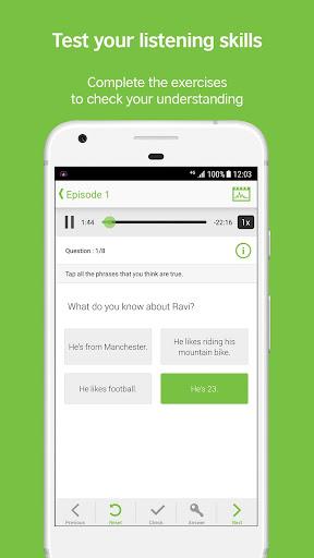 LearnEnglish Podcasts - Free English listening screenshot 4