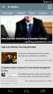 Newzealand News - screenshot