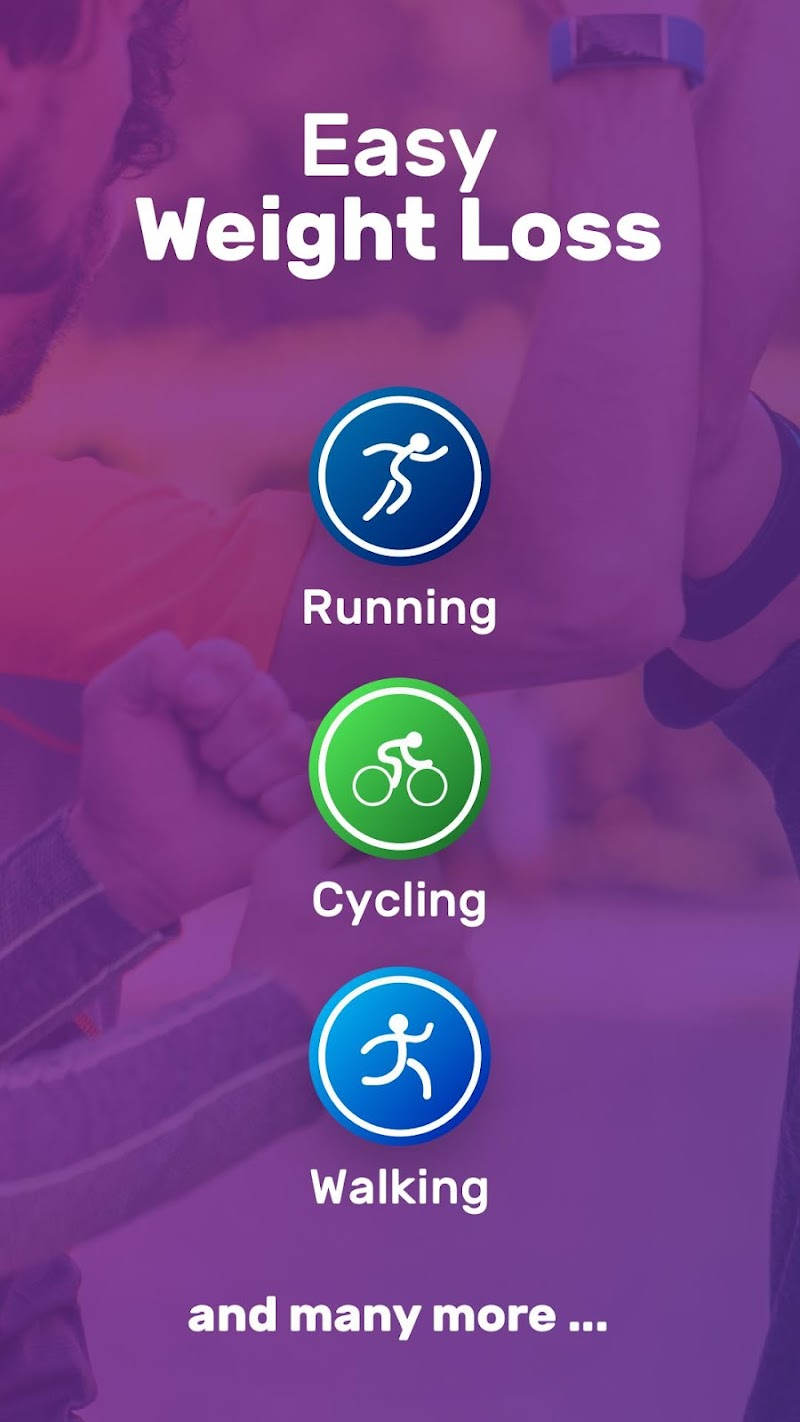 Running for Weight Loss Walking Jogging my FIT APP Screenshot 1