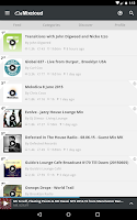 Screenshot of Mixcloud - Radio & DJ mixes