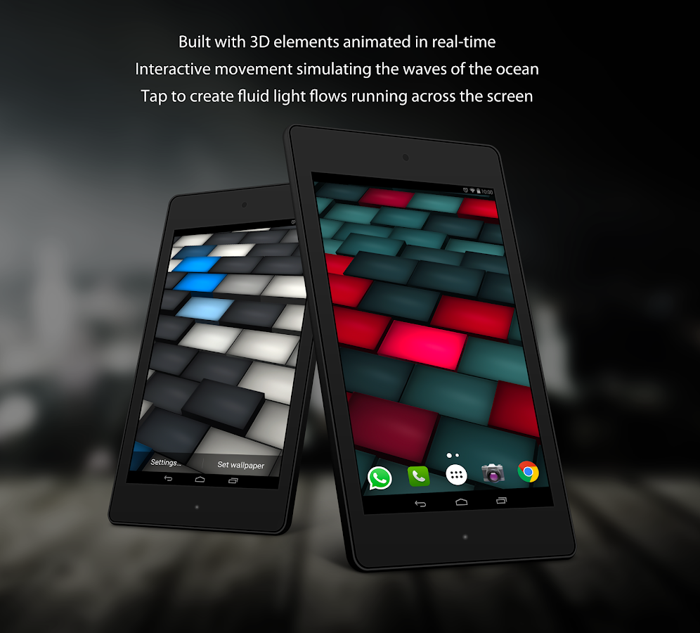 Lumi Deluxe Live Wallpaper Screenshot 9