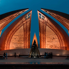 National Mounment of Pakistan by ᏋᏁᎶᏒ ᏕᏂᏗᏂᏒᏬᏦᏂ ᎥᎤᏰᏗᏝ - Buildings & Architecture Statues & Monuments