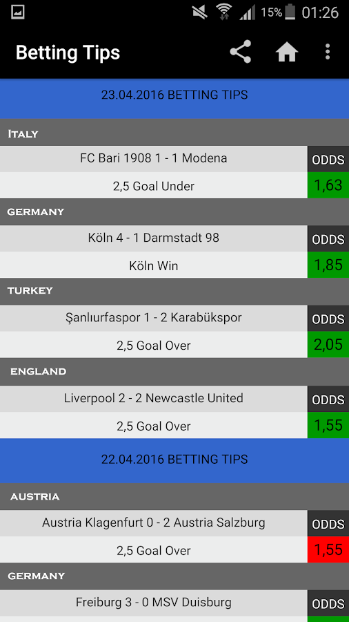 VIP Betting Tips : Predictions Screenshot