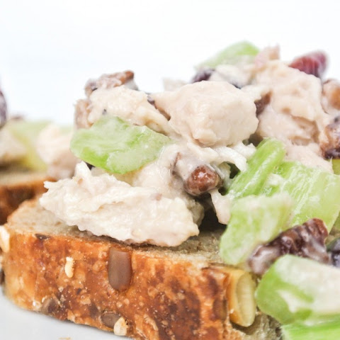 Chicken Salad {Honey, Cranberries, Pecans, & Celery}