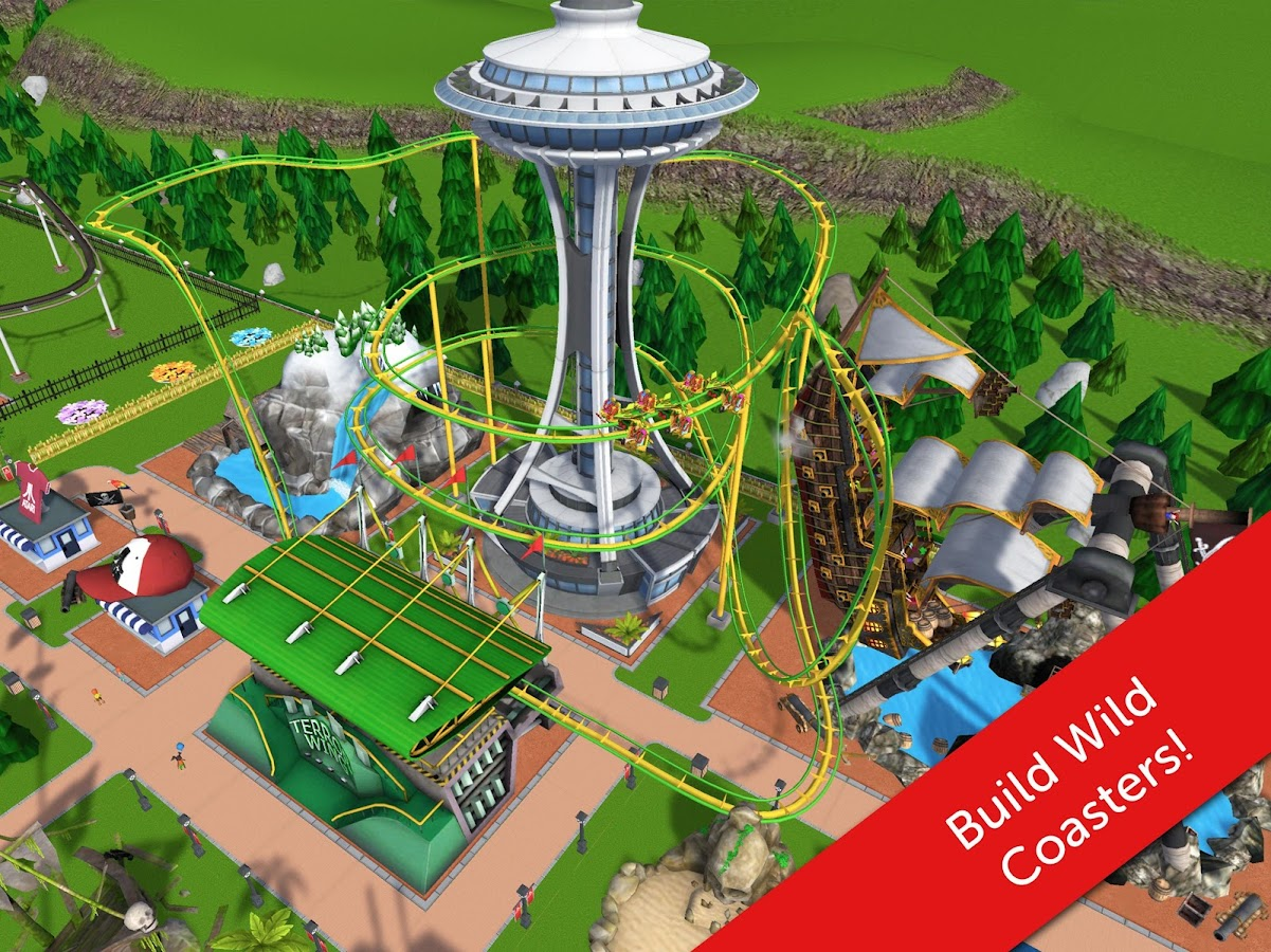 RollerCoaster Tycoon Touch Screenshot 7