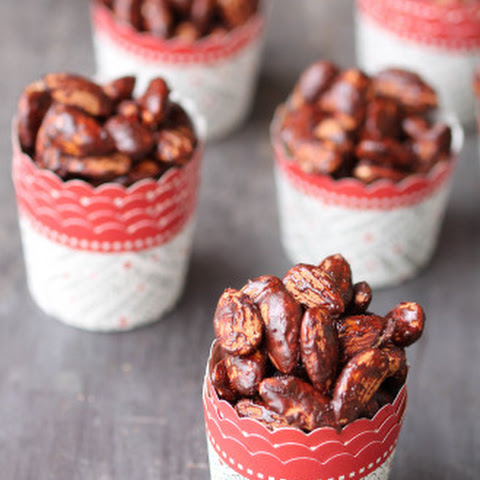 Roasted Almonds with Cocoa