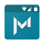 Download Full Material Status Bar Notific 7.1 APK