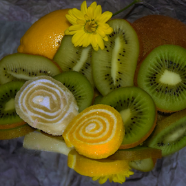fruits,candys and flower by LADOCKi Elvira - Food & Drink Fruits & Vegetables ( fruis )