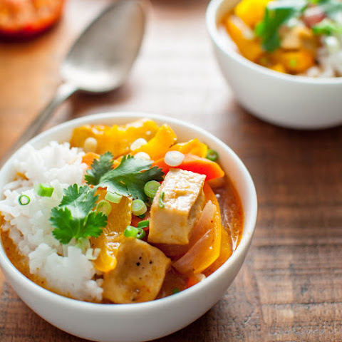 Thai Red Curry with Roasted Kabocha Squash