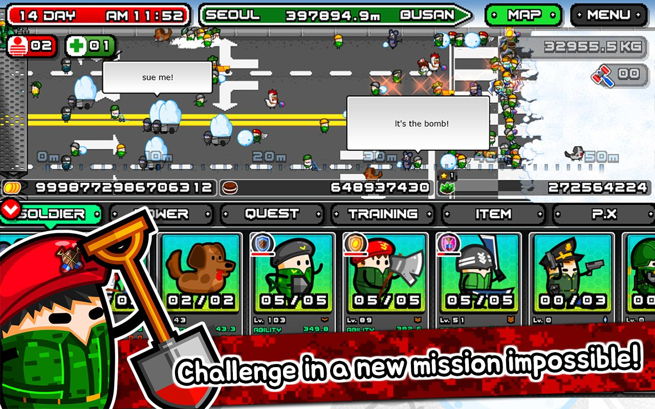 Shovel commandos 2 clicker Screenshot 1