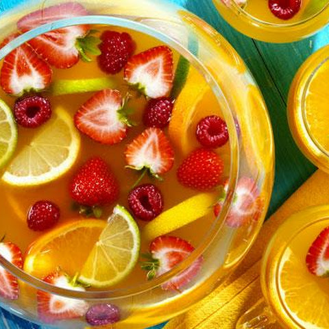 Citrus Fruit and Berry Punch