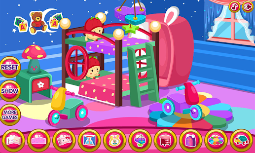 Twin baby room decoration game apk 1 0 6 free casual for Baby room decoration games online