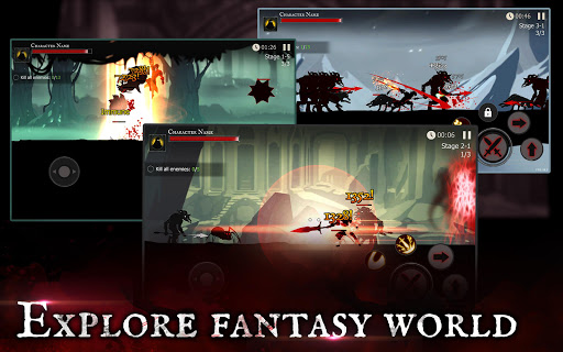 Shadow of Death: Dark Knight - Stickman Fighting screenshot 12