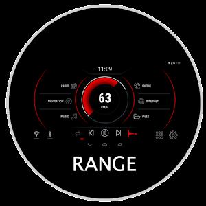 Range - theme for CarWebGuru launcher For PC