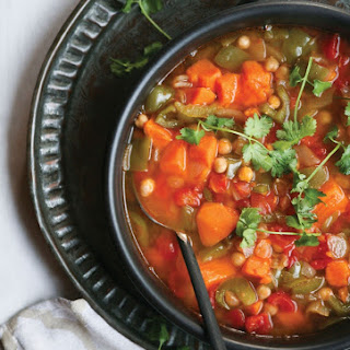 Vegetable and Chickpea Moroccan Stew