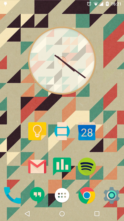 Iride UI is Hipster Icon Pack Screenshot 2