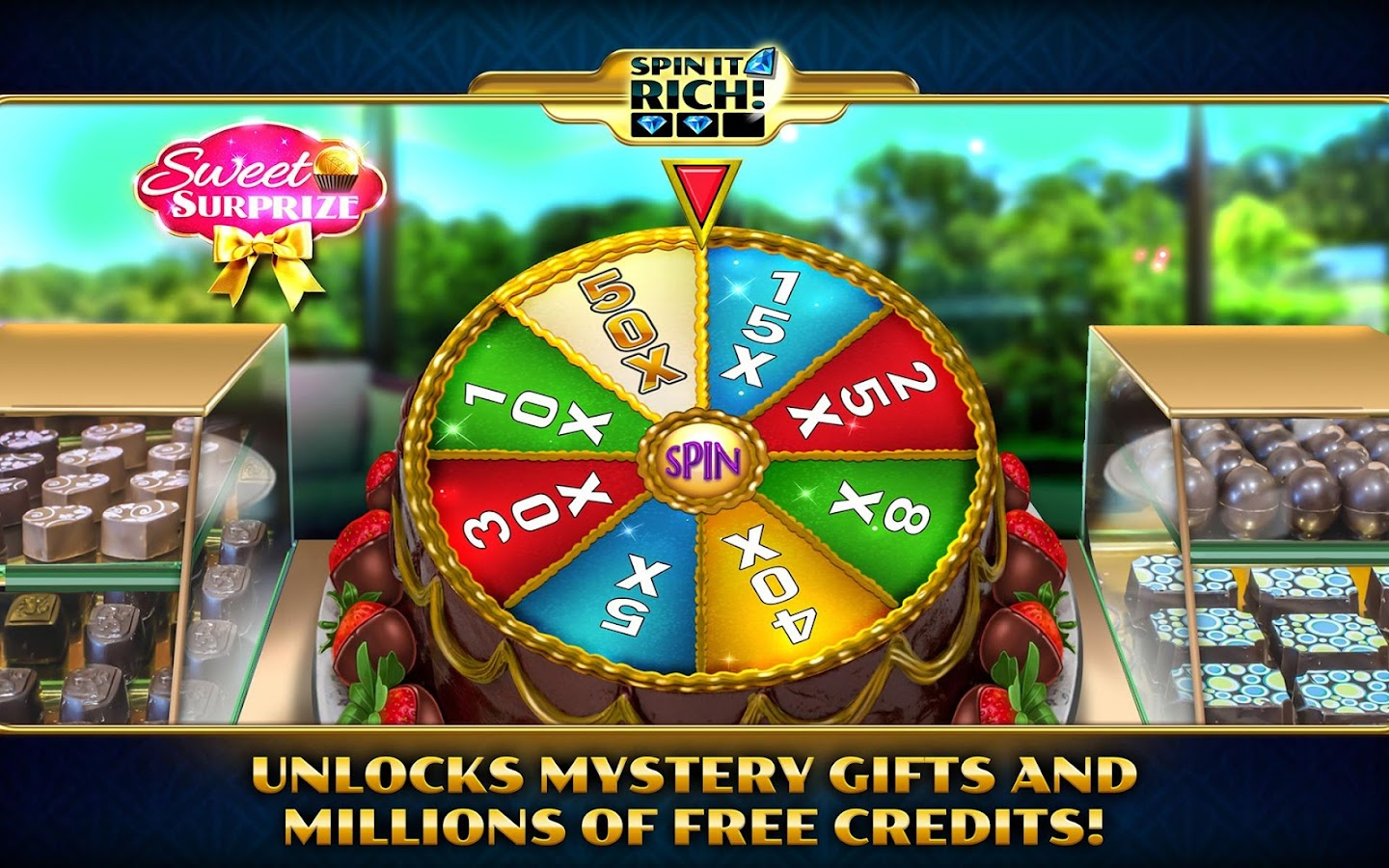Spin It Rich! Free Slot Casino Screenshot 13