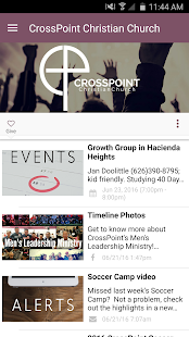 CrossPoint Christian Church - screenshot