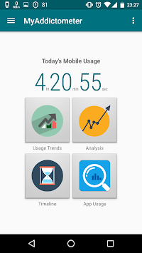 MyAddictometer - Mobile Addiction Tracker APK screenshot thumbnail 1
