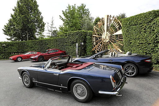 Old meets new - Maserati is about more than the latest tech