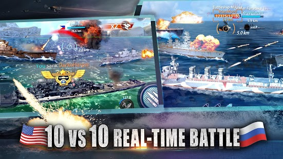 Warship Rising  10 vs 10 RealTime Esport Battle Für PC Windows & Mac