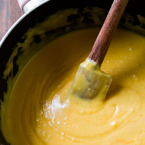 Kicked-Up Cheddar Cheese Sauce