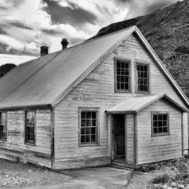 Old Chow Hall by Patricia Phillips - Buildings & Architecture Other Exteriors ( hatcher-pass alaska gold mines, chow-halls )